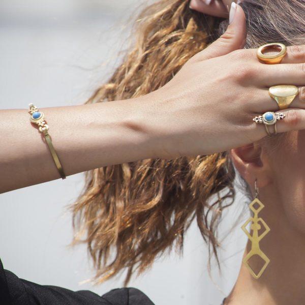 vintage bracelet worn