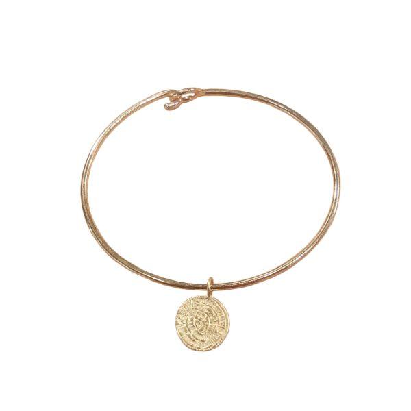 mbb24 lira bracelet gold