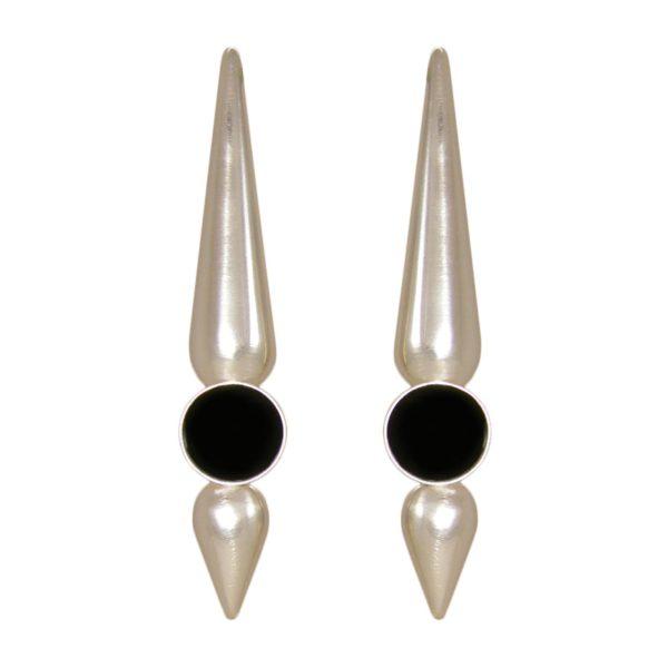 mia earrings silver